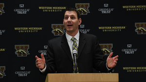 Western Michigan head coach Tim Lester piloted various parts of the Orange offense from 2013 to 2015 under former SU head coach Scott Shafer.