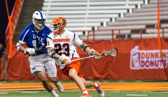 Syracuse attack Nick Mariano wins ACC Offensive Player of the Week
